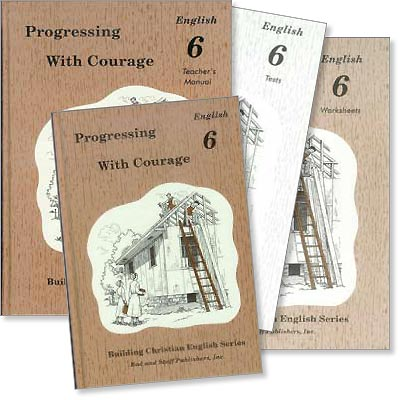 "Grade 6 English ""Progressing with Courage"" Set"