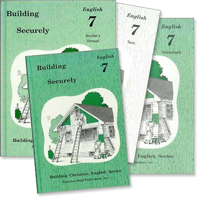 "Grade 7 English ""Building Securely"" Set"
