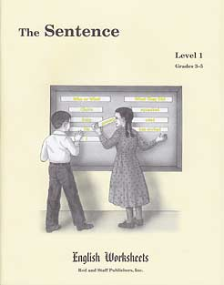 Grades 3-5 (Level 1) The Sentence English Worksheets