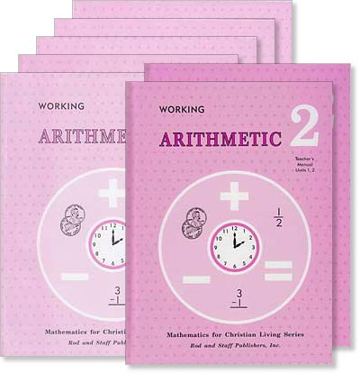 "Grade 2 Math ""Working Arithmetic"" Set"