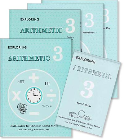 "Grade 3 Math ""Exploring Arithmetic"" Set"