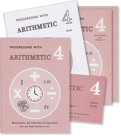 "Grade 4 Math ""Progressing with Arithmetic"" Set"