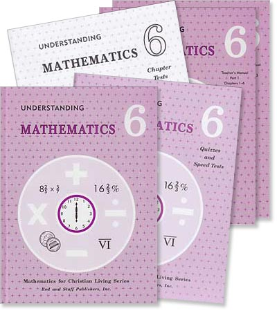 "Grade 6 Math ""Understanding Mathematics"" Set"