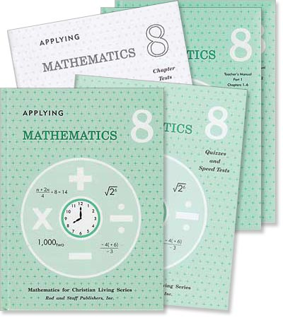 "Grade 8 Math ""Applying Mathematics"" Set"