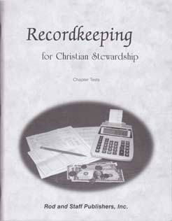 Recordkeeping for Christian Stewardship - Tests