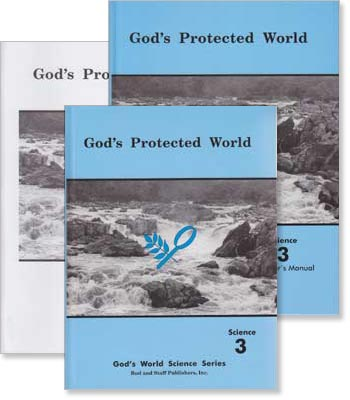 "Grade 3 Science ""God's Protected World"" Set"