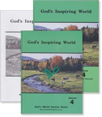 "Grade 4 Science ""God's Inspiring World"" Set"