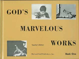 "DISCOUNT - Grade 5 [PREV EDITION] Science ""God's Marvelous Works"" Book 1 Teacher's Edition"