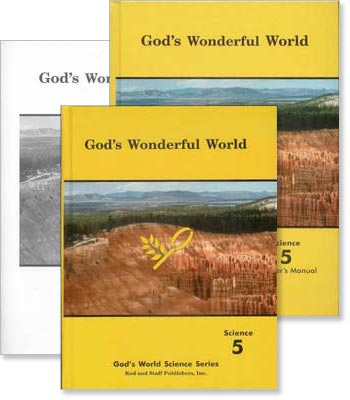 "Grade 5 Science ""God's Wonderful World"" Set"