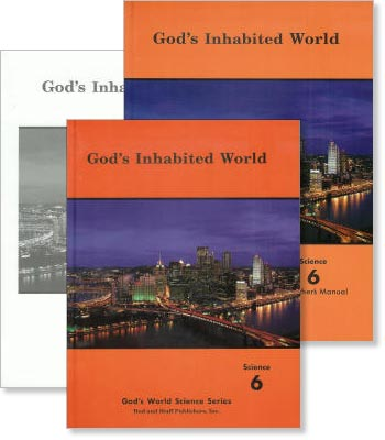 "Grade 6 Science ""God's Inhabited World"" Set"