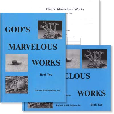 "Grade 6 [PREV EDITION] Science ""God's Marvelous Works"" Book 2 Set"
