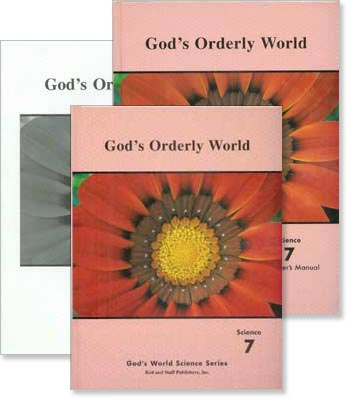"Grade 7 Science ""God's Orderly World"" Set"