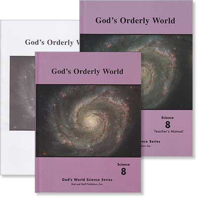 "Grade 8 Science [Revised] ""God's Orderly World"" Set"