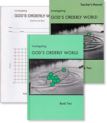 "Grade 9 and 10 Science ""Investigating God's Orderly World"" Book 2 Set"