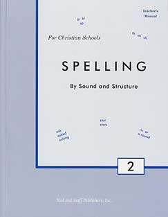 Grade 2 Spelling Teacher's Manual