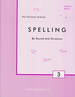 Grade 3 Spelling Teacher's Manual
