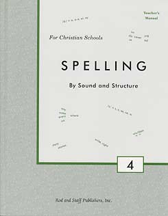 Grade 4 Spelling Teacher's Manual