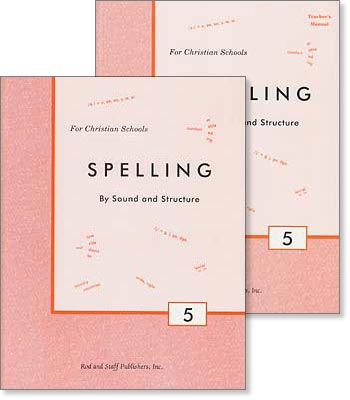 "Grade 5 Spelling ""Spelling by Sound and Structure"" Set"