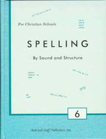 DISCOUNT - Grade 6 Spelling Textbook