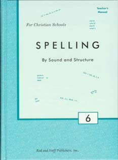 Grade 6 Spelling Teacher's Manual