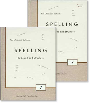 "Grade 7 Spelling ""Spelling by Sound and Structure"" Set"