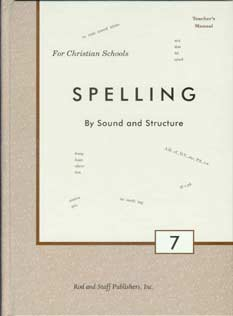 Grade 7 Spelling Teacher's Manual