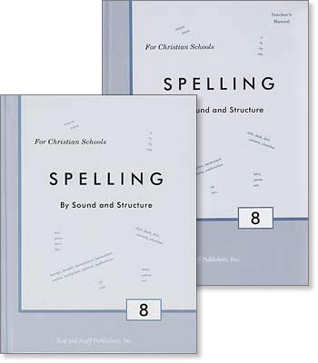 "Grade 8 Spelling ""Spelling by Sound and Structure"" Set"