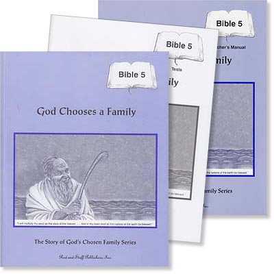 "Grade 5 Bible ""God Chooses a Family"" Set"