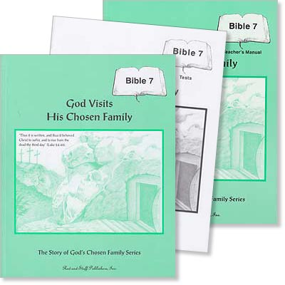 "Grade 7 Bible ""God Visits His Chosen Family"" Set"