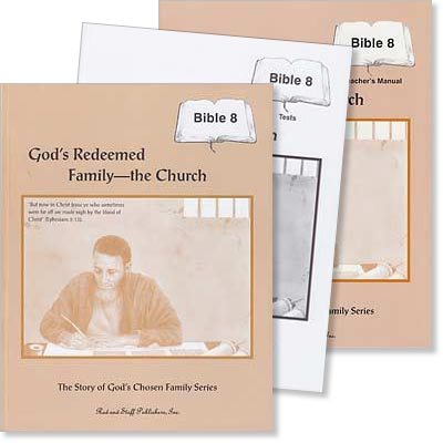 "Grade 8 Bible ""God's Redeemed Family—The Church"" Set"