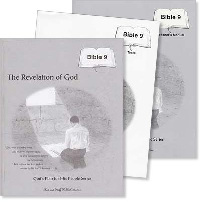 "Grade 9 Bible ""The Revelation of God"" Set"