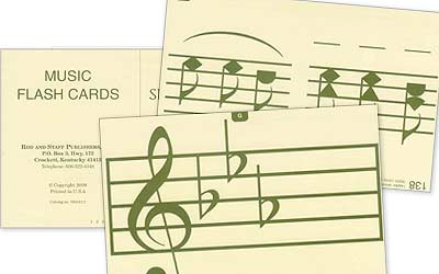 Grade 1 (and up) Music Flash Cards (English/Spanish)