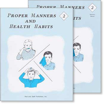 "Grade 2 Health ""Proper Manners and Health Habits"" Set"