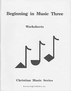 DISCOUNT - Grade 3 Music Workbook (Teacher's Guide inside)