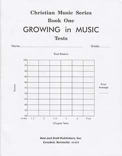 Grade 4 or 5 Music Tests