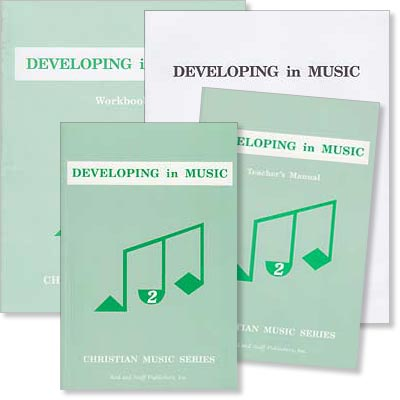 "Grade 6 or 7 Music ""Developing in Music"" Set"