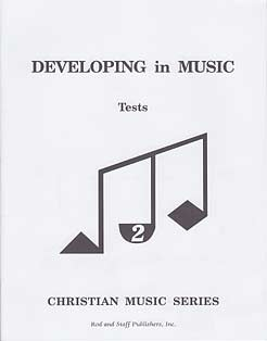 Grade 6 or 7 (Level 2) Music Tests