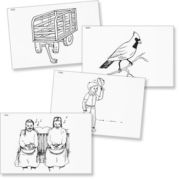 Mental Picture Cues - Picture Cards