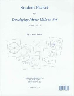 "Grade 1,2 ""Developing Motor Skills in Art"" Student Packet"