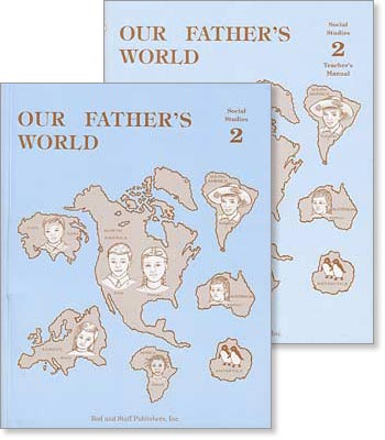 "Grade 2 Social Studies ""Our Father's World"" Set"
