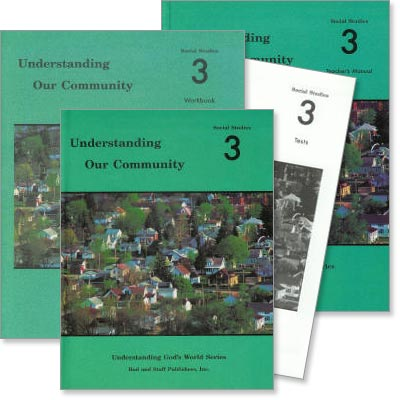 "Grade 3 Social Studies ""Understanding Our Community"" Set"