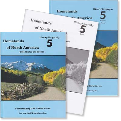 "Grade 5 History/Geography ""Homelands of North America"" Set"