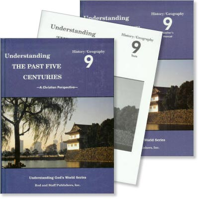 "Grade 9 History/Geography ""Understanding the Past Five Centuries"" Set"