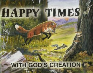 Happy Times with God's Creation Coloring Book