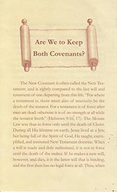 Tract - Are We to Keep Both Covenants? [Pack of 100]