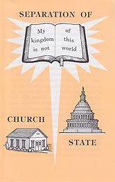 Tract - Separation of Church and State [Pack of 50]