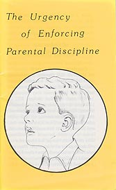 Tract [D] - The Urgency of Enforcing Parental Discipline