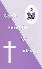 Tract - God's Formula for Victory [Pack of 100]