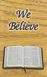 Tract - We Believe [Pack of 100]