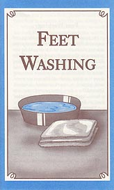Tract - Feet Washing [Pack of 50]